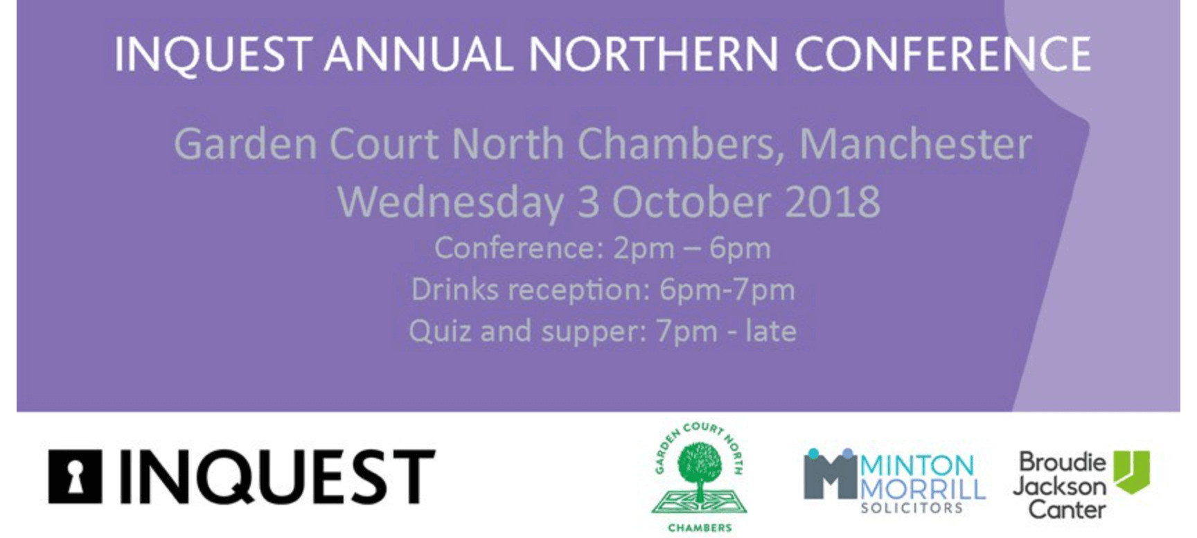 INQUEST Northern Conference 2018