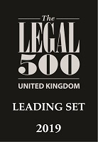 UK Legal 500 Leading Set 2019